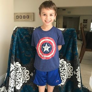 Marvel Captain America T-shirt shirt 5/6
